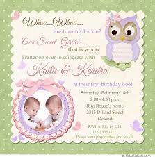 doc twin first birthday invitations u2013 first birthday party