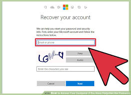 reset windows 8 password hotmail 7 ways to access your computer if you have forgotten the password
