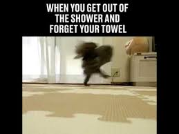 Towel Meme - when you forget your towel cuando te olvidas de tu toalla youtube