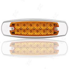 10x 12led side marker amber clearance light indicator for kenworth