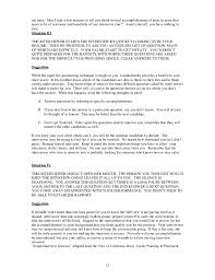 Take Resume To Interview How To Interview For A Job