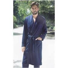 robe de chambre homme robe de chambre homme col chale élégant