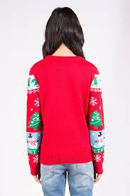womens it s lit tree sweater at bluenotes