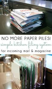 kitchen office organization ideas best 25 mail organization ideas on mail center