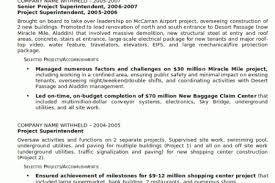 Sample Resume For Construction Superintendent by Contractor Work Resume Reentrycorps