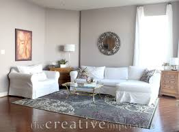 grey and white living room ideas christmas lights decoration