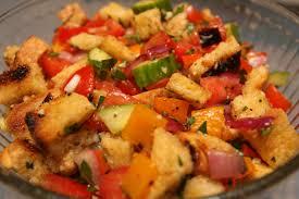 panzanella bread salad recipe u2014 dishmaps