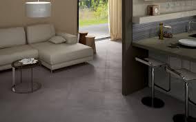 Grey Floor Living Room Space Grey Floor And Wall Tiles Iris Ceramica