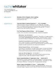 bartender resume example resume example and free resume maker