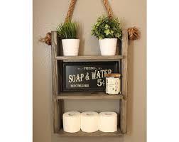 Ladder Shelf For Bathroom Shelf Etsy