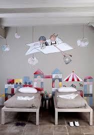 fresque murale chambre bébé chambre enfant originale deco fresque murale
