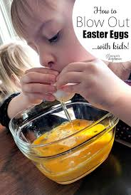 blown easter eggs how to out easter eggs with kids reality daydream