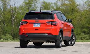 jeep compass 2017 trailhawk 2017 jeep compass in depth model review car and driver