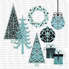 Christmas Clip Art Christmas Tree Digital Scrapbooking Clipart
