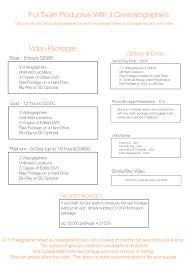 Photography Wedding Packages Blog U2014 Top Rated Toronto Wedding Videographer