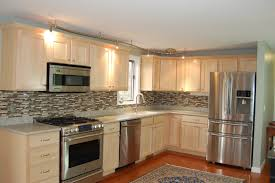 Natural Birch Kitchen Cabinets by Kitchen Backsplash Ideas Think Green Loversiq