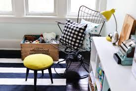 diy upholstered footstool