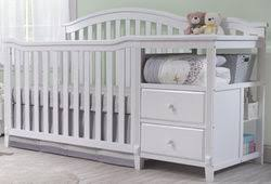 Changing Table Crib Crib With Changing Table Combo Babies R Us