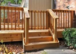 Deck Handrail Photo Galleries Wood Decks Rock Solid Builders Inc