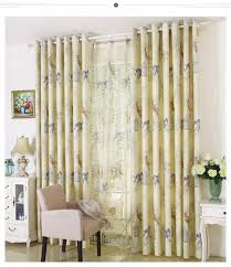 Light Linen Curtains Linen Curtains American Rustic Style Curtains For Living Room