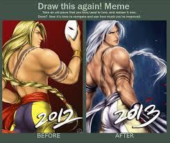 Vega Meme - lets draw vega again p by tixielix on deviantart