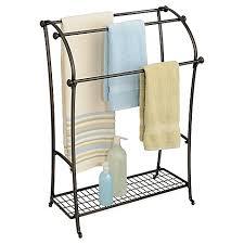 bath towel racks stands holders u0026 warmers bed bath u0026 beyond