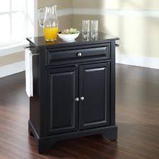 black granite kitchen island kitchen island granite ebay