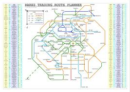 Maps Route Planner by Rares Trading Metro Map