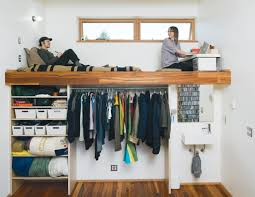 loft bed with closet great ways to transform small spaces with loft beds
