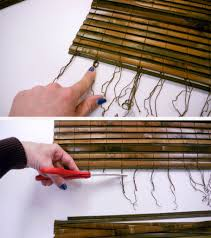 10 surprising ways to reuse old bamboo blinds the finishing touch