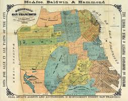 San Francisco City Map by Old Map Of San Francisco U2022 Mapsof Net