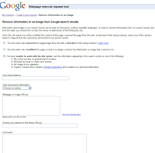 official google webmaster central blog requesting removal of