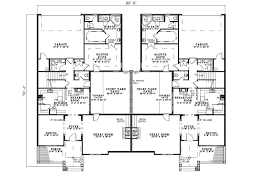 family home floor plans country creek duplex home plan 055d 0865 house plans and more