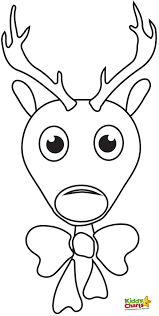 awesome santa and his reindeer coloring pages on rudolph coloring