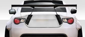 custom white subaru brz extreme dimensions 2013 2014 scion fr s subaru brz duraflex gt500