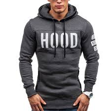 2017 hoodies brand men chest letter printing sweatshirt male hoody