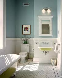 small traditional bathroom ideas yellow mounted wall sink and hexagonal tile floor for small