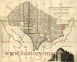 Washington Maps by Map Of Washington Dc