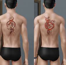 mod the sims zodiac sign tattoo set 1 of 2 not accessories