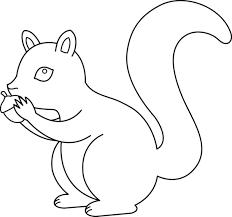 cute squirrel art free clip art