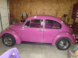volkswagen beetle purple vw bug no reserve