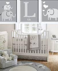 Baby Decor For Nursery Grey And White Baby Room Ideas Nursery Decor Elephant Simple