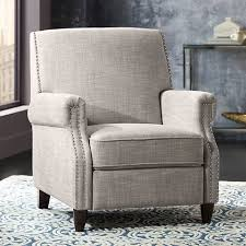 hudson los angeles sand fabric recliner 1p144 lamps plus