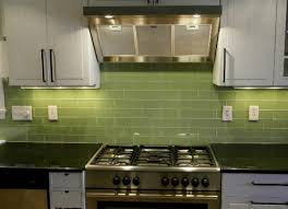green glass tiles for kitchen backsplashes modern relaxing green glass tile backsplash my home design journey