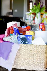 bereavement baskets sympathy gift basket idea fantabulosity
