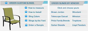Carter Grandle Outdoor Furniture by Patio Furniture Repair Replacement Slings Straps Replacement Parts