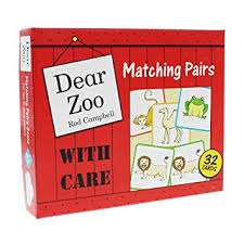 Zoo Increases Sales And Enhances Dear Zoo Matching Pairs Amazon Co Uk Toys