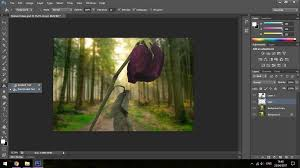 how to create a stained glass effect in adobe photoshop
