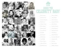free printable celebrity baby game by nellie design self promo