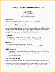 Sample Chemical Engineering Resume Building Engineer Resume Sample Padraig Clery Beng Miei
